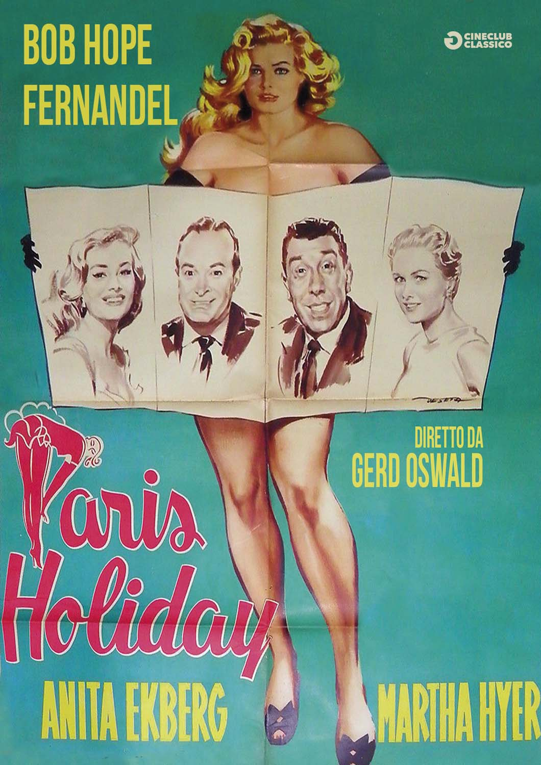 PARIS HOLIDAY (DVD)