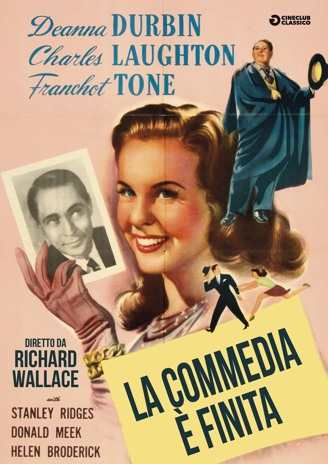 LA COMMEDIA E' FINITA (DVD)