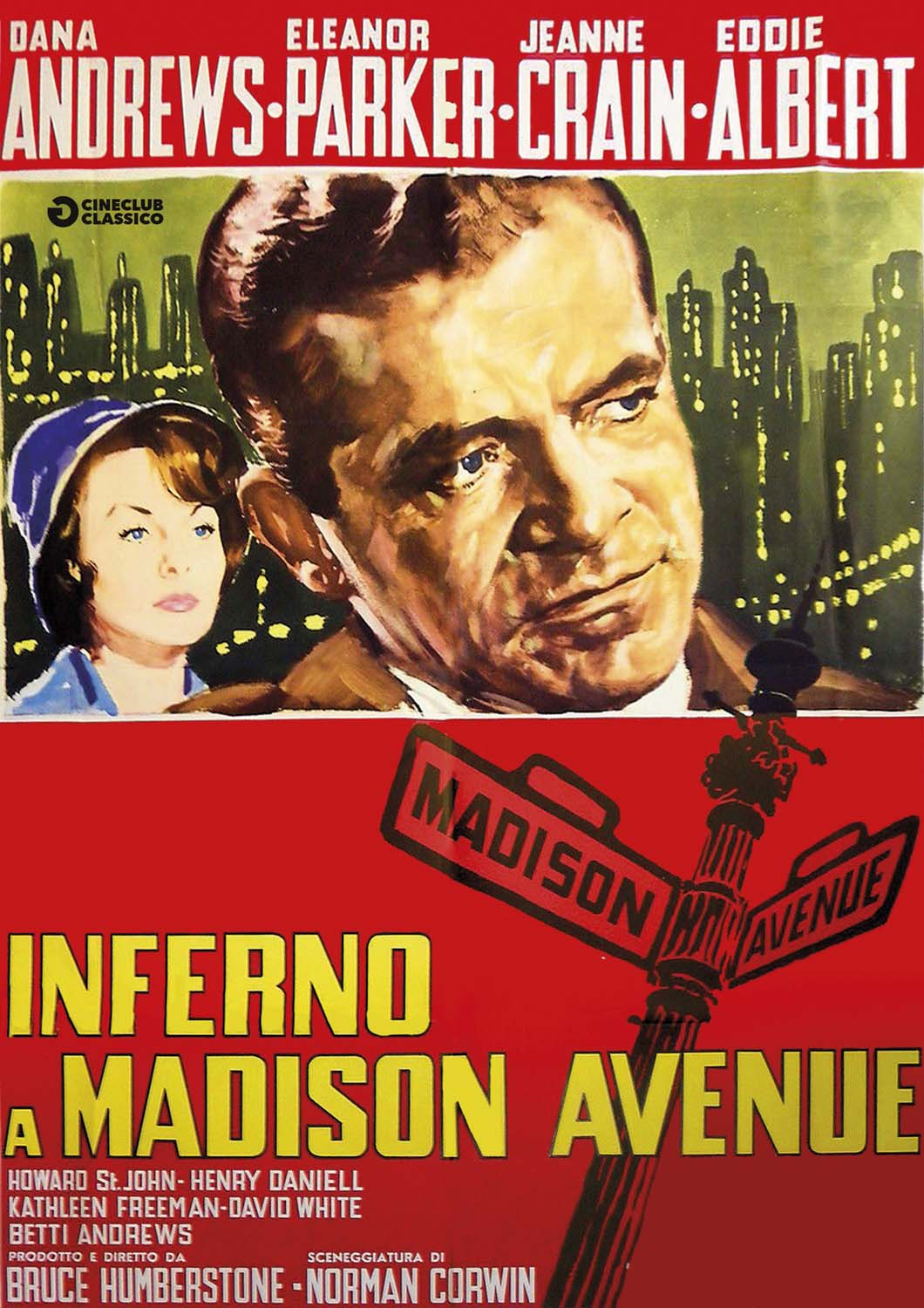 INFERNO A MADISON AVENUE (DVD)