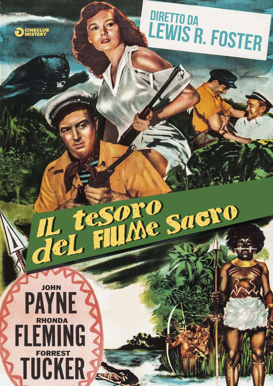 IL TESORO DEL FIUME SACRO (DVD)