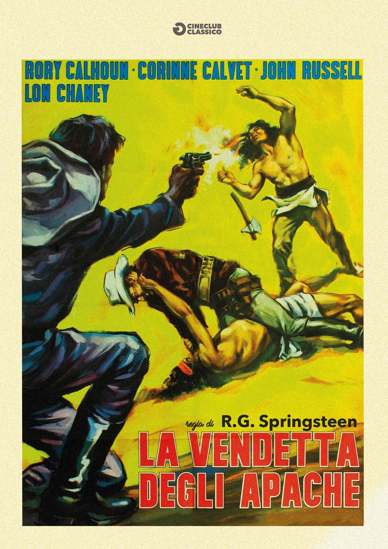 LA VENDETTA DEGLI APACHES (DVD)
