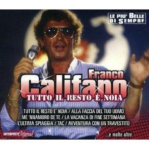 FRANCO CALIFANO - TUTTO IL RESTO E' NOIA (CD)