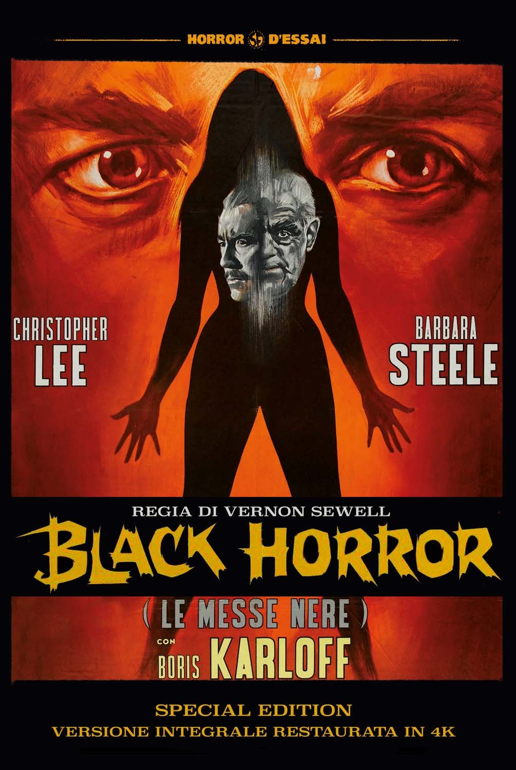 BLACK HORROR - LE MESSE NERE (SPECIAL EDITION) (VERSIONE INTEGRALE RESTAURATA IN 4K) (DVD)