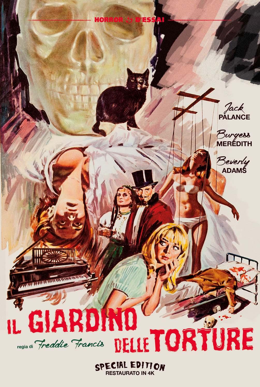 IL GIARDINO DELLE TORTURE (SPECIAL EDITION) (RESTAURATO IN 4K) (DVD)