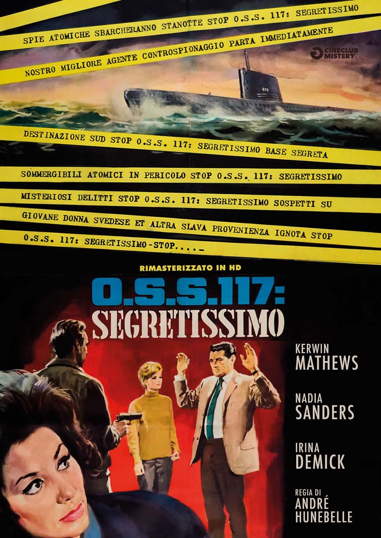 OSS 117 - SEGRETISSIMO (RIMASTERIZZATO IN HD) (DVD)
