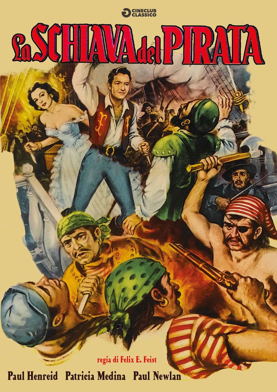 LA SCHIAVA DEL PIRATA (DVD)