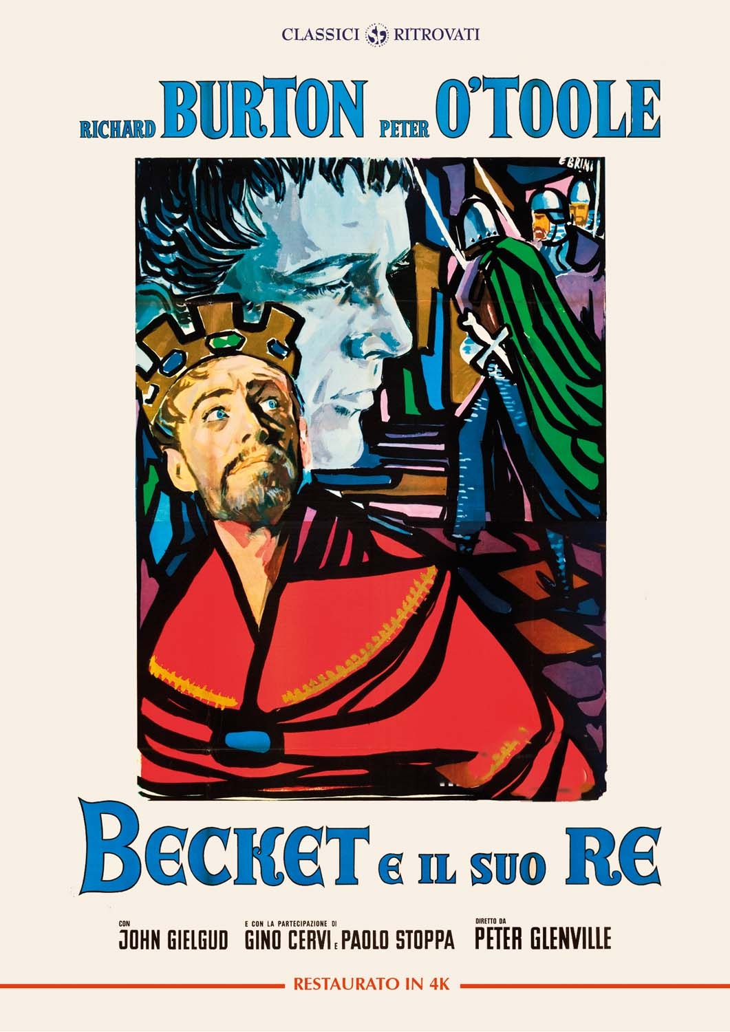BECKET E IL SUO RE (RESTAURATO IN 4K) (DVD)