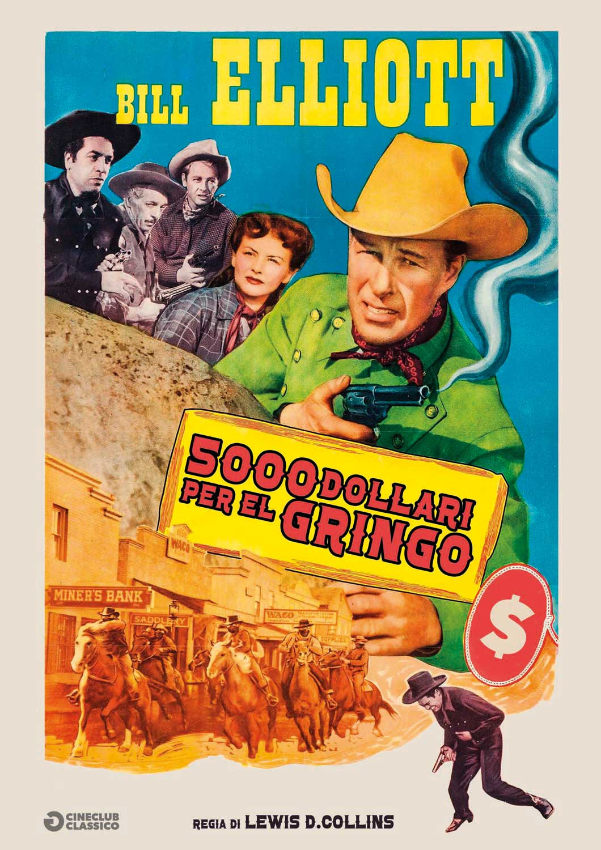 5000 DOLLARI PER EL GRINGO (DVD)