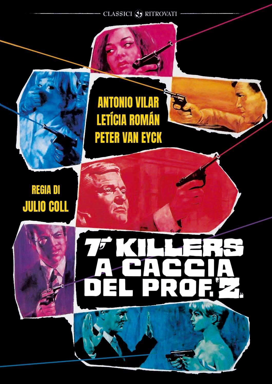 SETTE KILLER A CACCIA DEL PROF. Z (DVD)