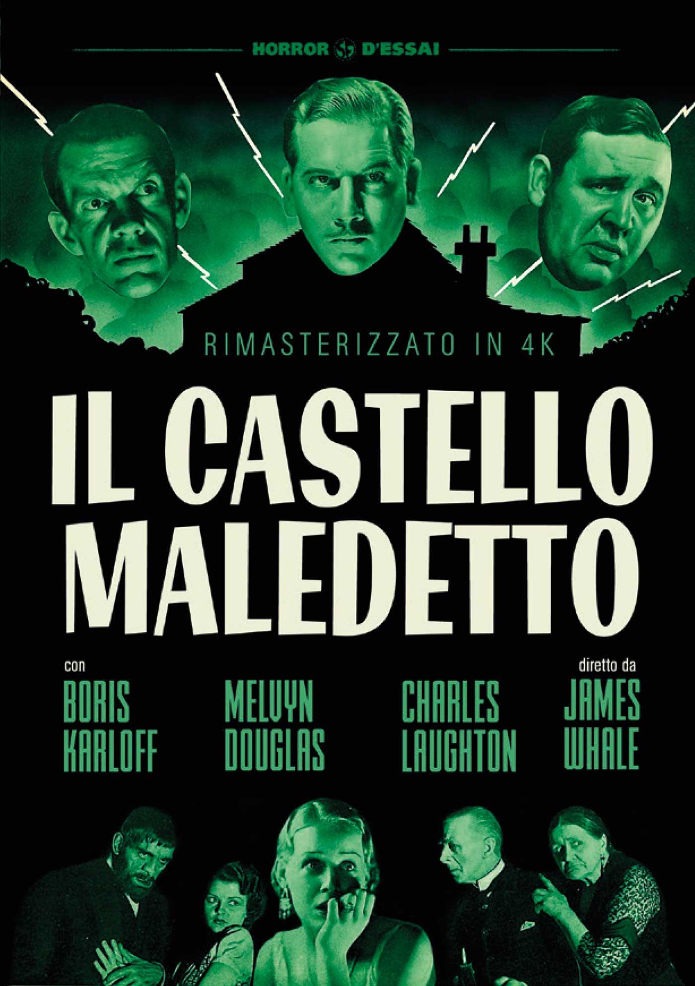 IL CASTELLO MALEDETTO (RIMASTERIZZATO IN 4K) (DVD)