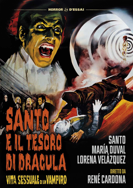 SANTO E IL TESORO DI DRACULA (DVD)