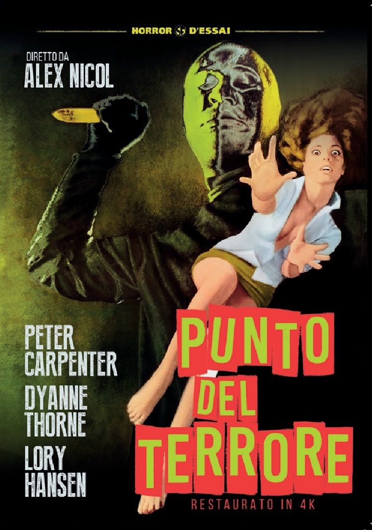 PUNTO DEL TERRORE (RESTAURATO IN 4K) (DVD)