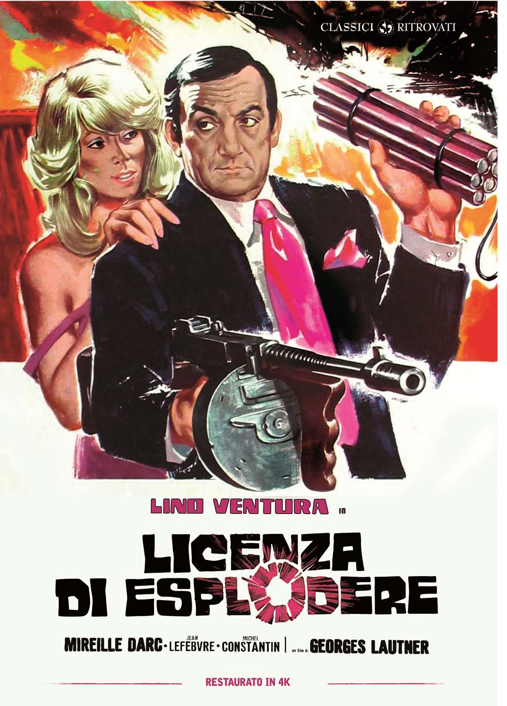LICENZA DI ESPLODERE (RESTAURATO IN 4K) (DVD)