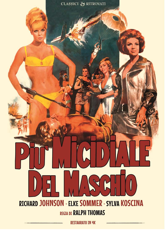 PIU' MICIDIALE DEL MASCHIO (RESTAURATO IN 4K) (DVD)