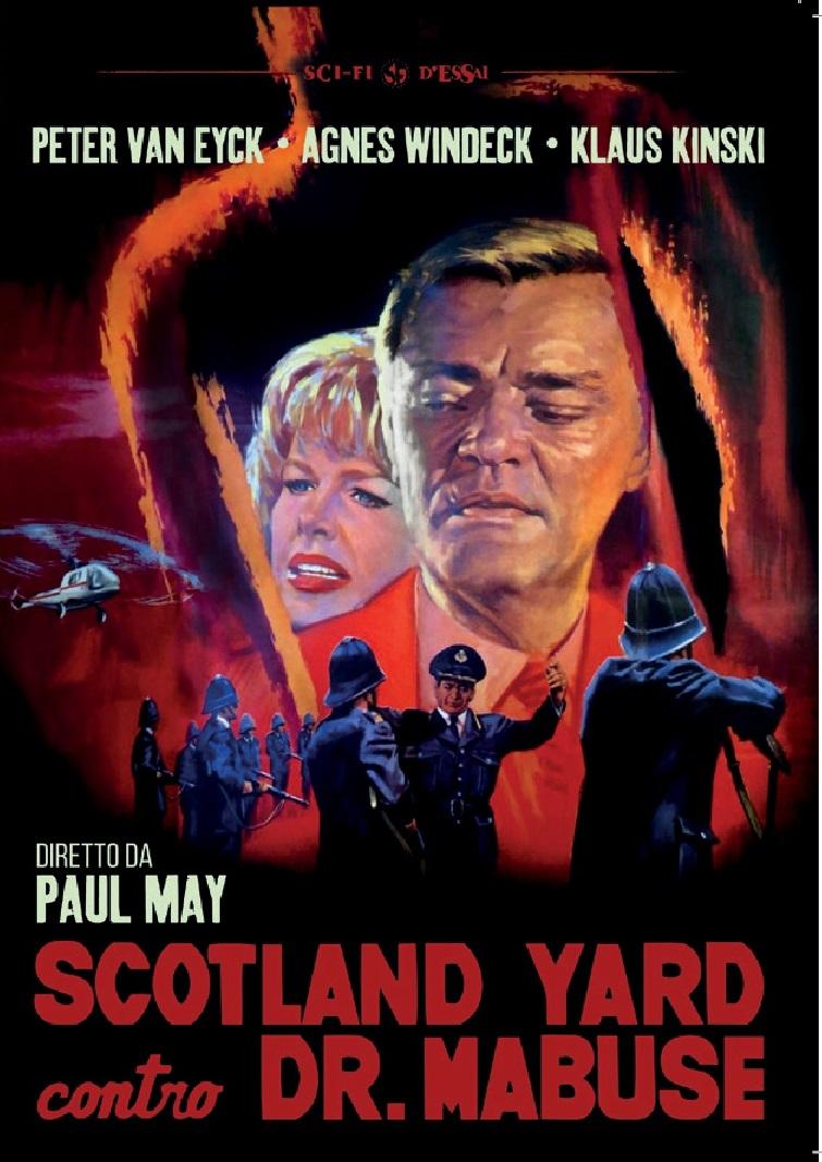 SCOTLAND YARD CONTRO DR. MABUSE (DVD)