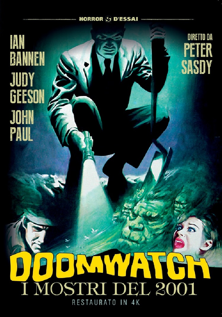 DOOMWATCH - I MOSTRI DEL 2001 (RESTAURATO IN 4K) (DVD)