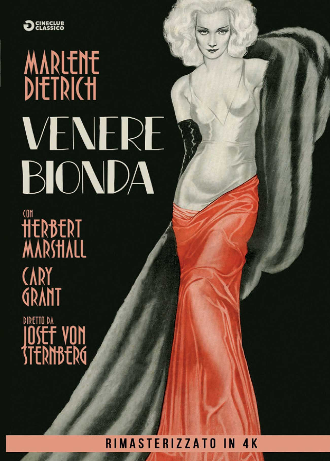 VENERE BIONDA (RIMASTERIZZATO IN 4K) (DVD)