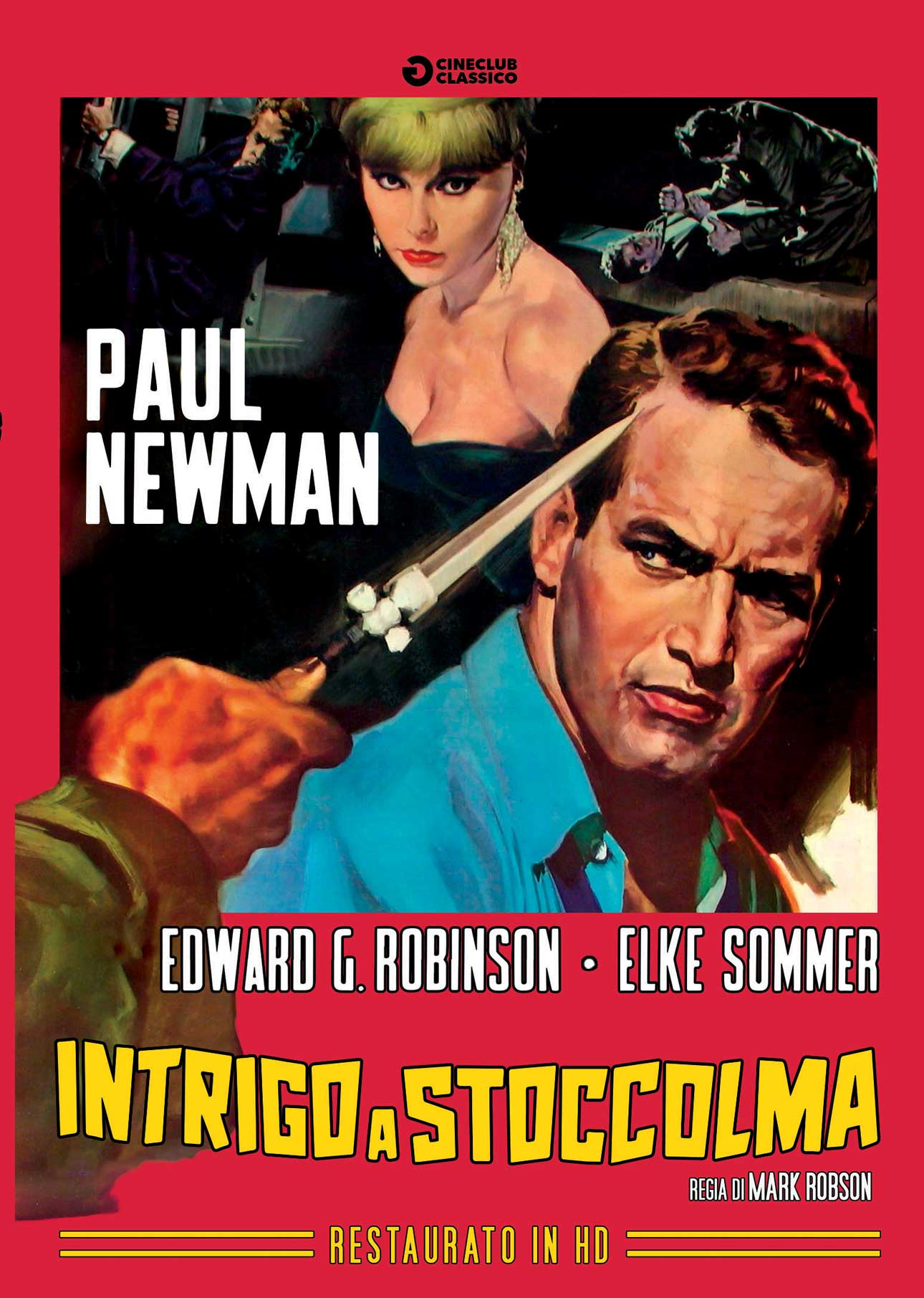 INTRIGO A STOCCOLMA (RESTAURATO IN HD) (DVD)