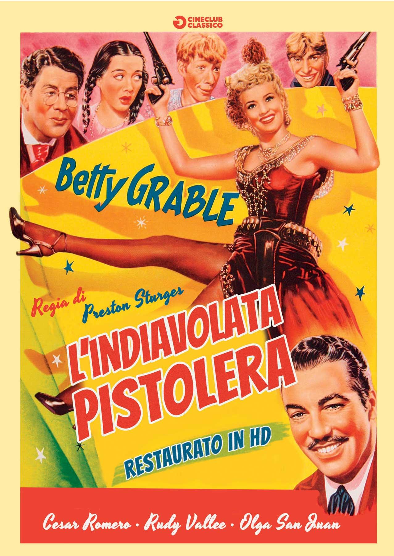 L'INDIAVOLATA PISTOLERA (RESTAURATO IN HD) (DVD)