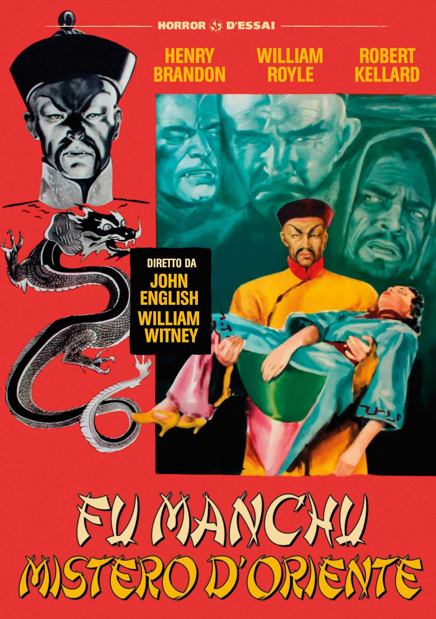 FU MANCHU MISTERO D'ORIENTE (DVD)