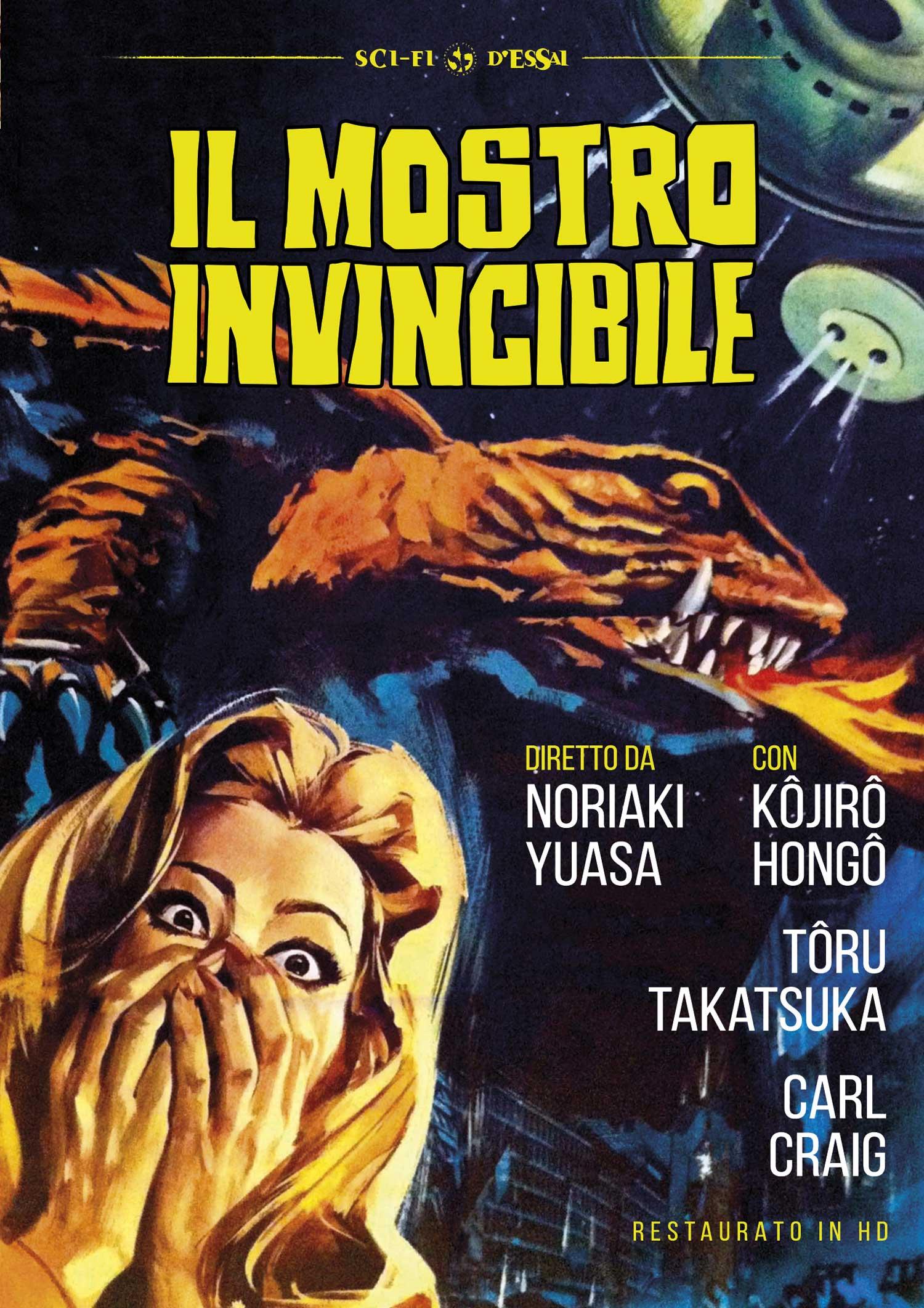 IL MOSTRO INVINCIBILE (DVD)