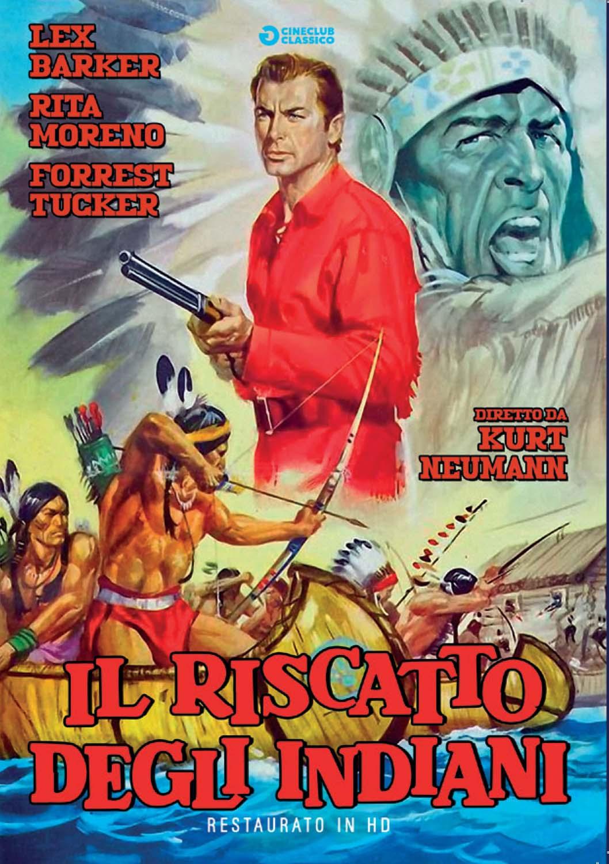 IL RISCATTO DEGLI INDIANI (RESTAURATO IN HD) (DVD)