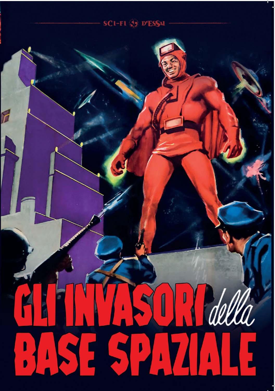 GLI INVASORI DELLA BASE SPAZIALE (DVD)