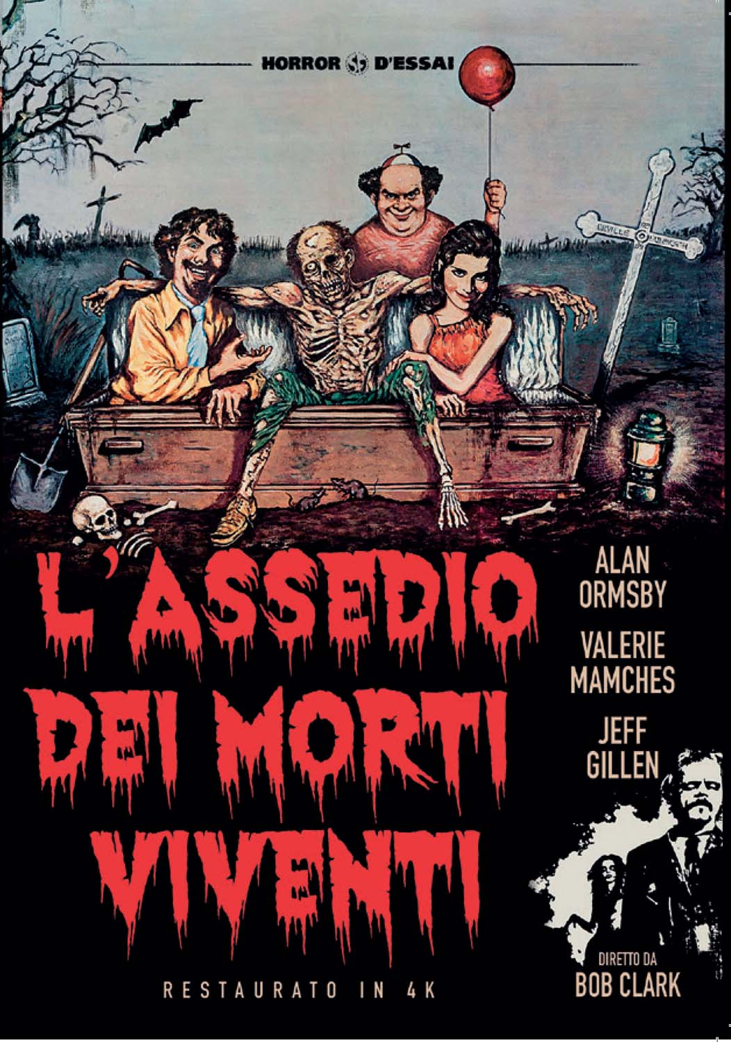 L'ASSEDIO DEI MORTI VIVENTI (RESTAURATO IN 4K) (DVD)