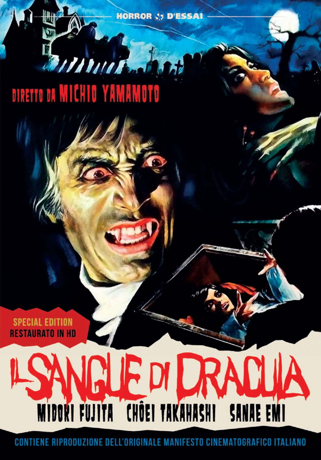 IL SANGUE DI DRACULA (RESTAURATO IN HD) (DVD+POSTER) (DVD)