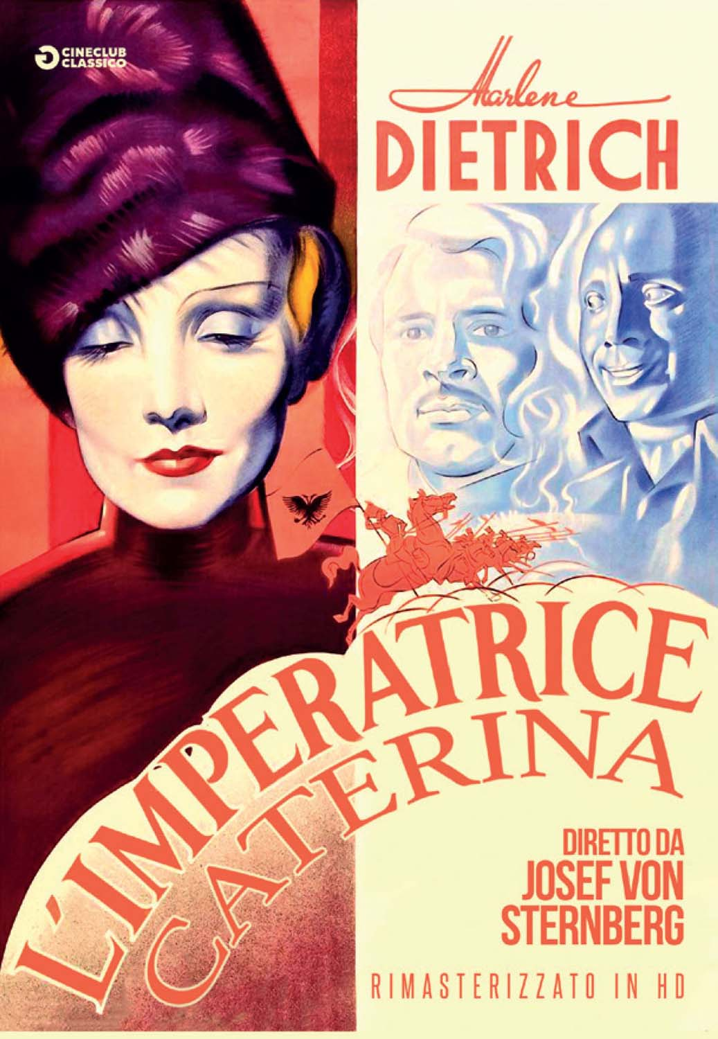L'IMPERATRICE CATERINA (RIMASTERIZZATO IN HD) (DVD)