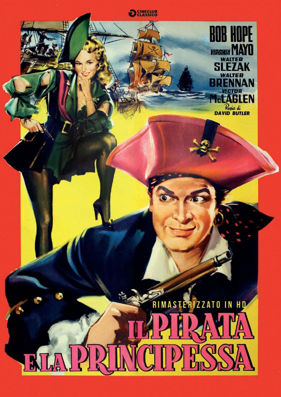 IL PIRATA E LA PRINCIPESSA (RIMASTERIZZATO IN HD) (DVD)