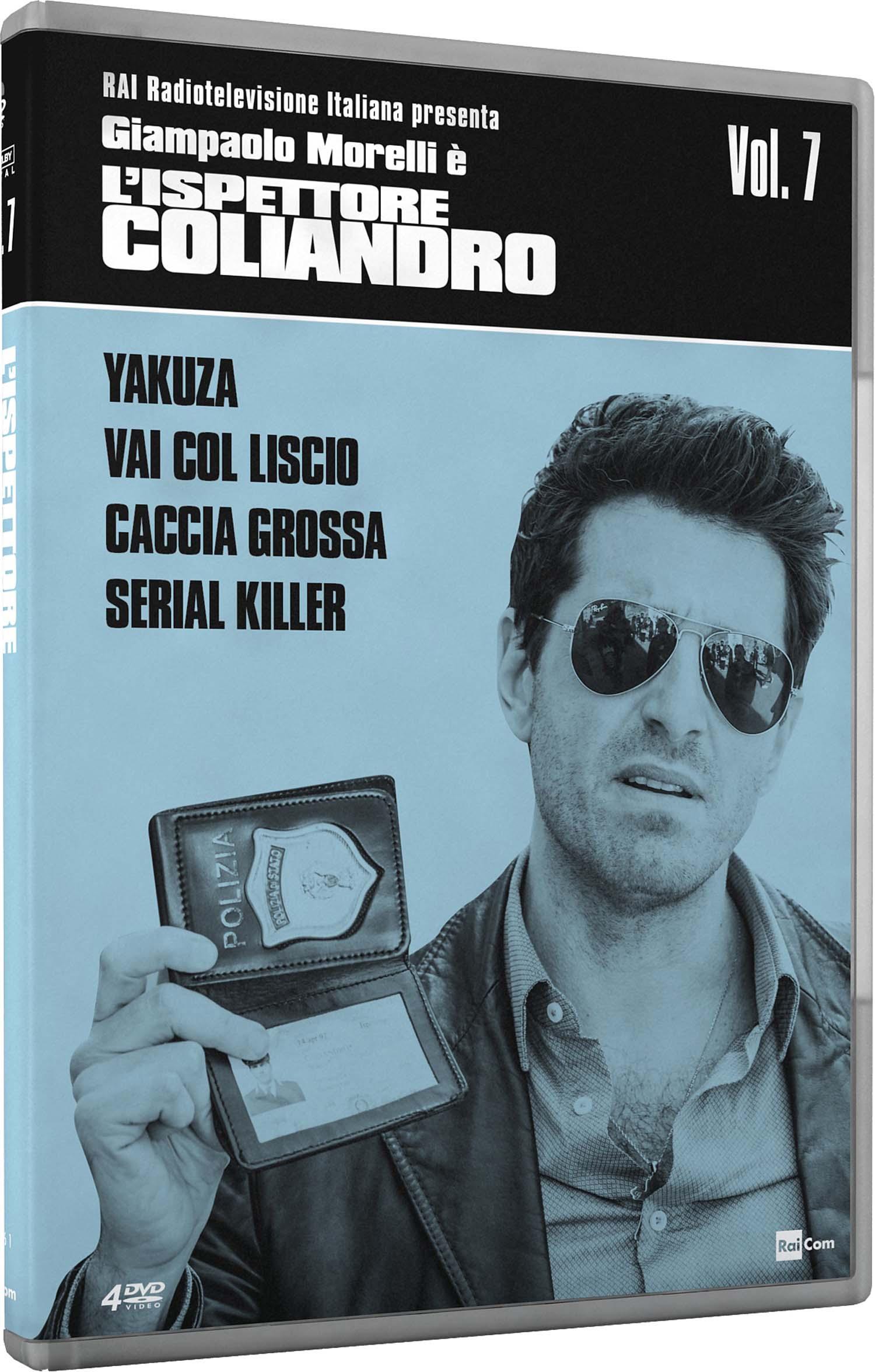 COF.L'ISPETTORE COLIANDRO - STAGIONE 07 (4 DVD) (DVD)