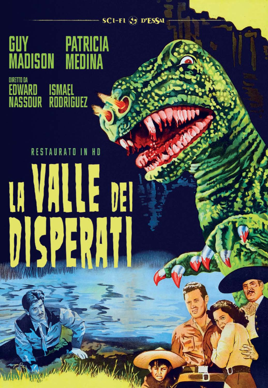 LA VALLE DEI DISPERATI (RESTAURATO IN HD) (DVD)