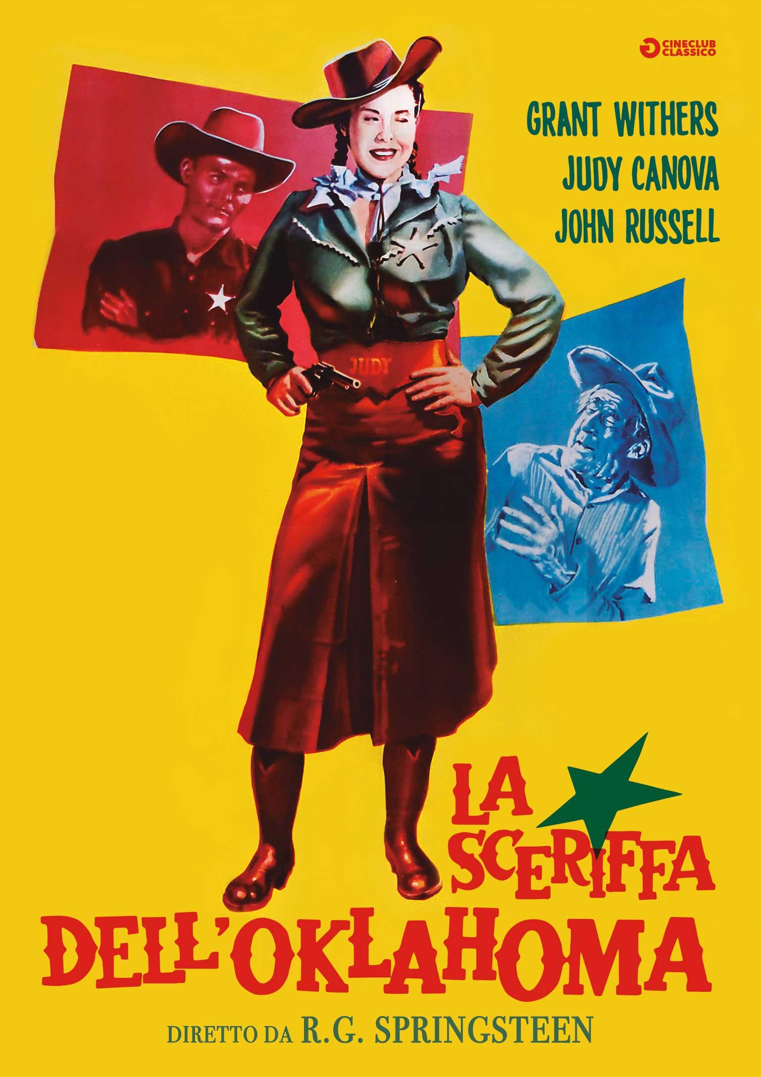 LA SCERIFFA DELL'OKLAHOMA (DVD)