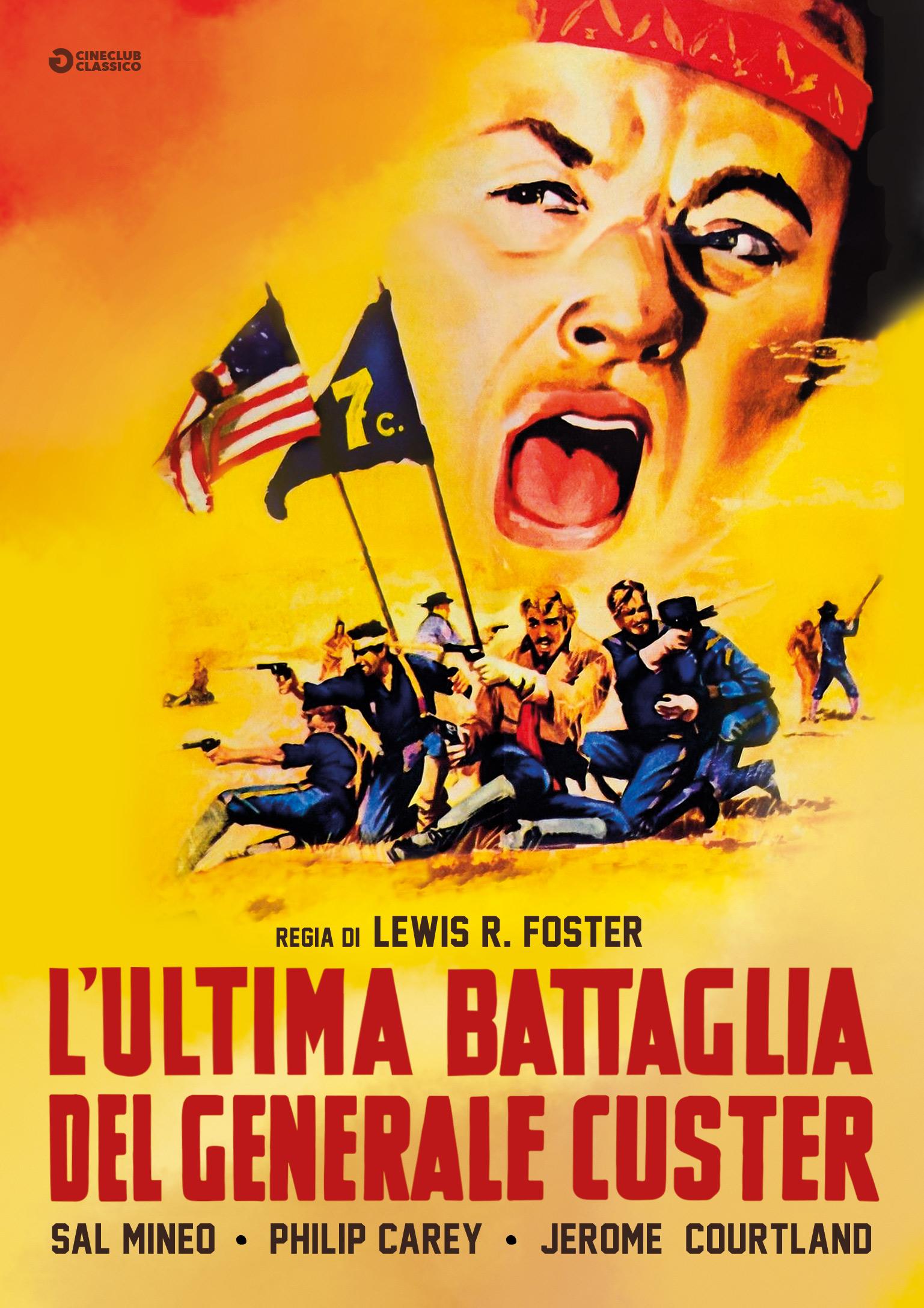 L'ULTIMA BATTAGLIA DEL GENERALE CUSTER (DVD)
