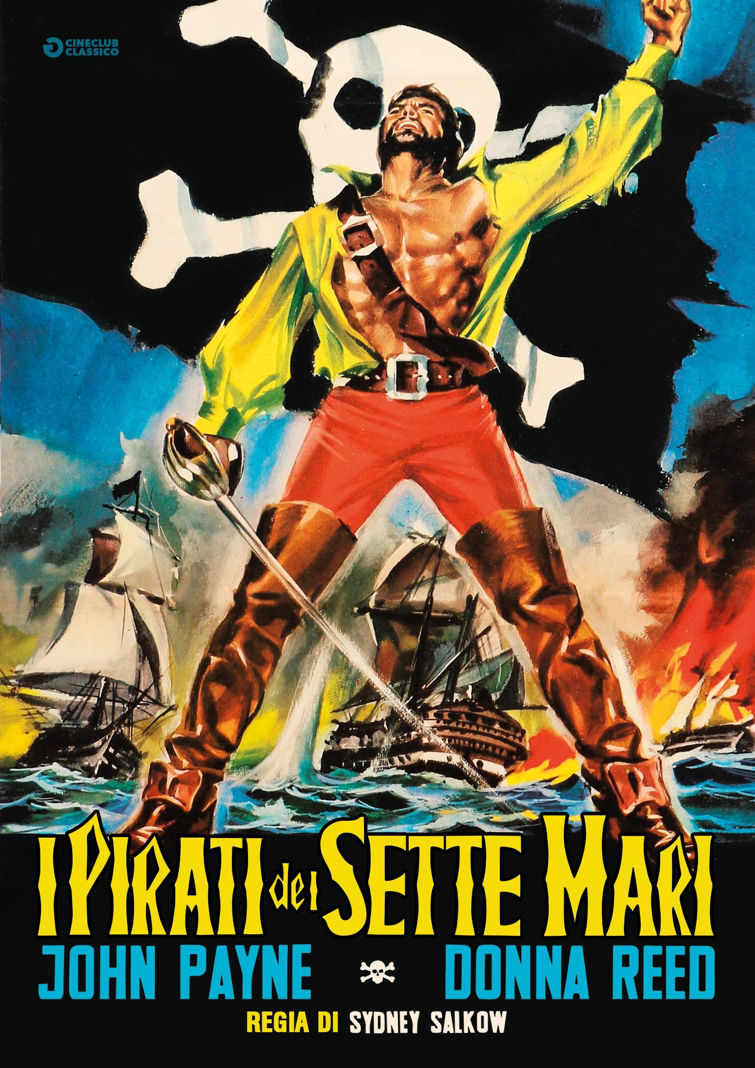 I PIRATI DEI SETTE MARI (DVD)