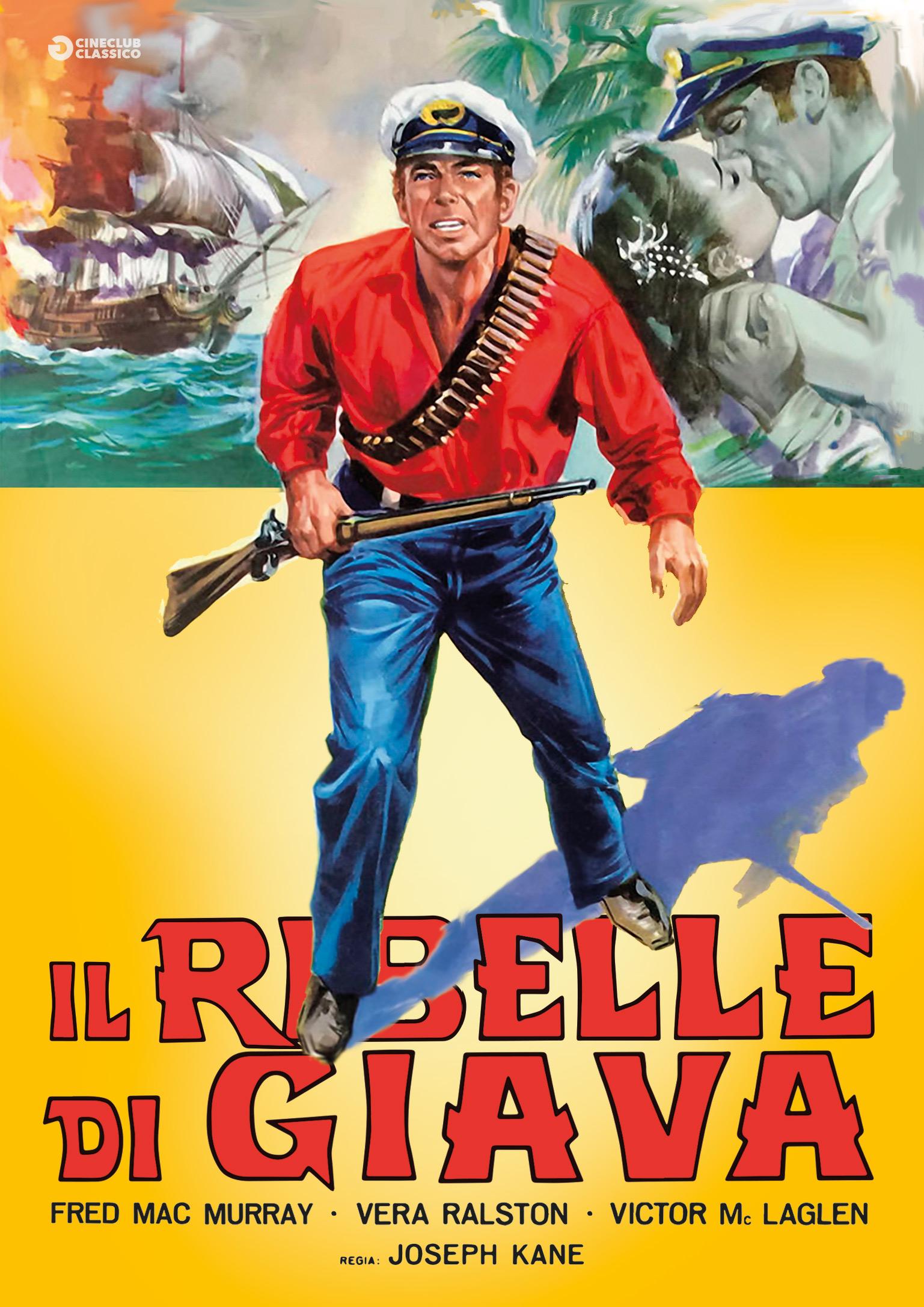 IL RIBELLE DI GIAVA (DVD)