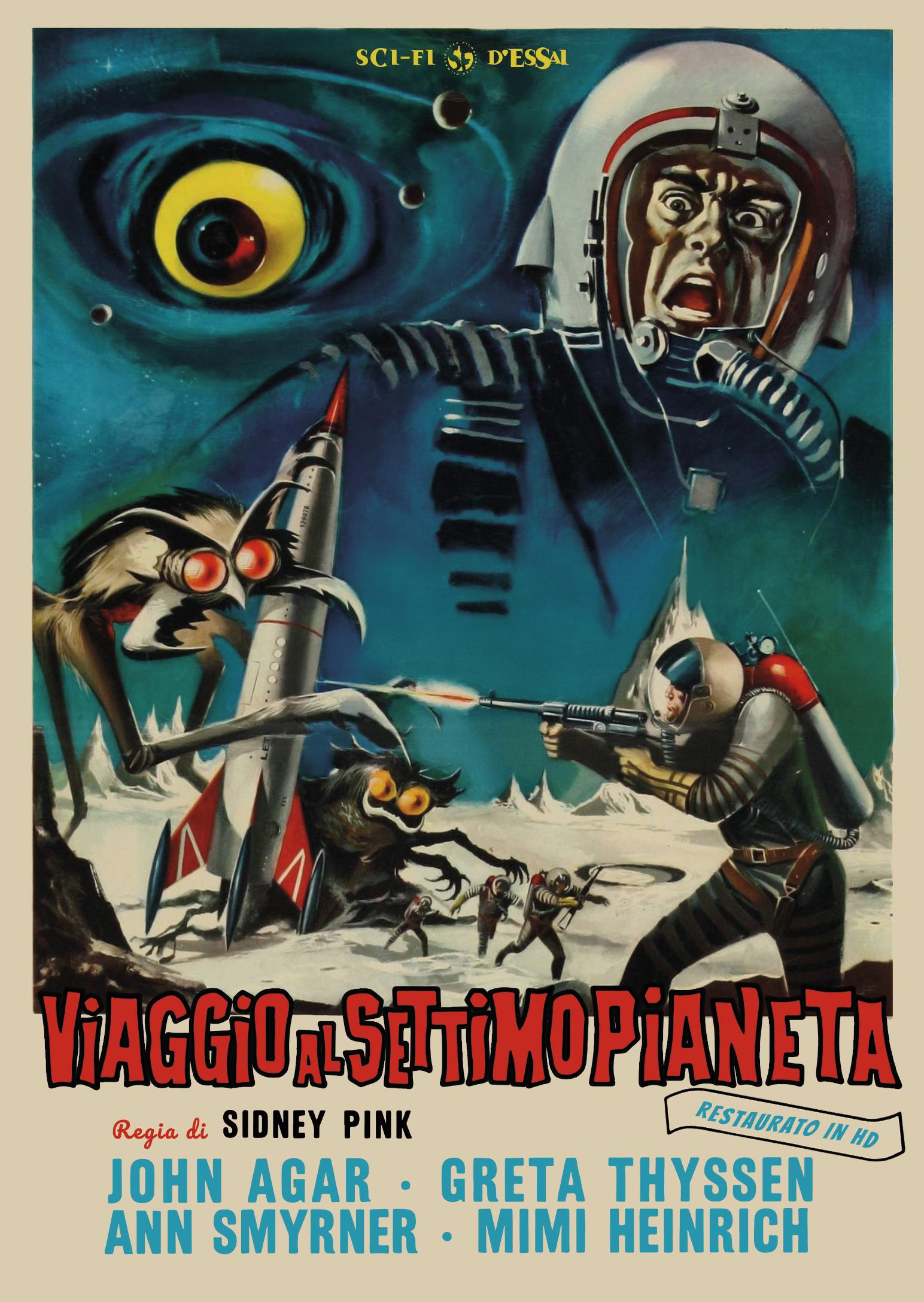 VIAGGIO AL SETTIMO PIANETA (RESTAURATO IN HD) (DVD)