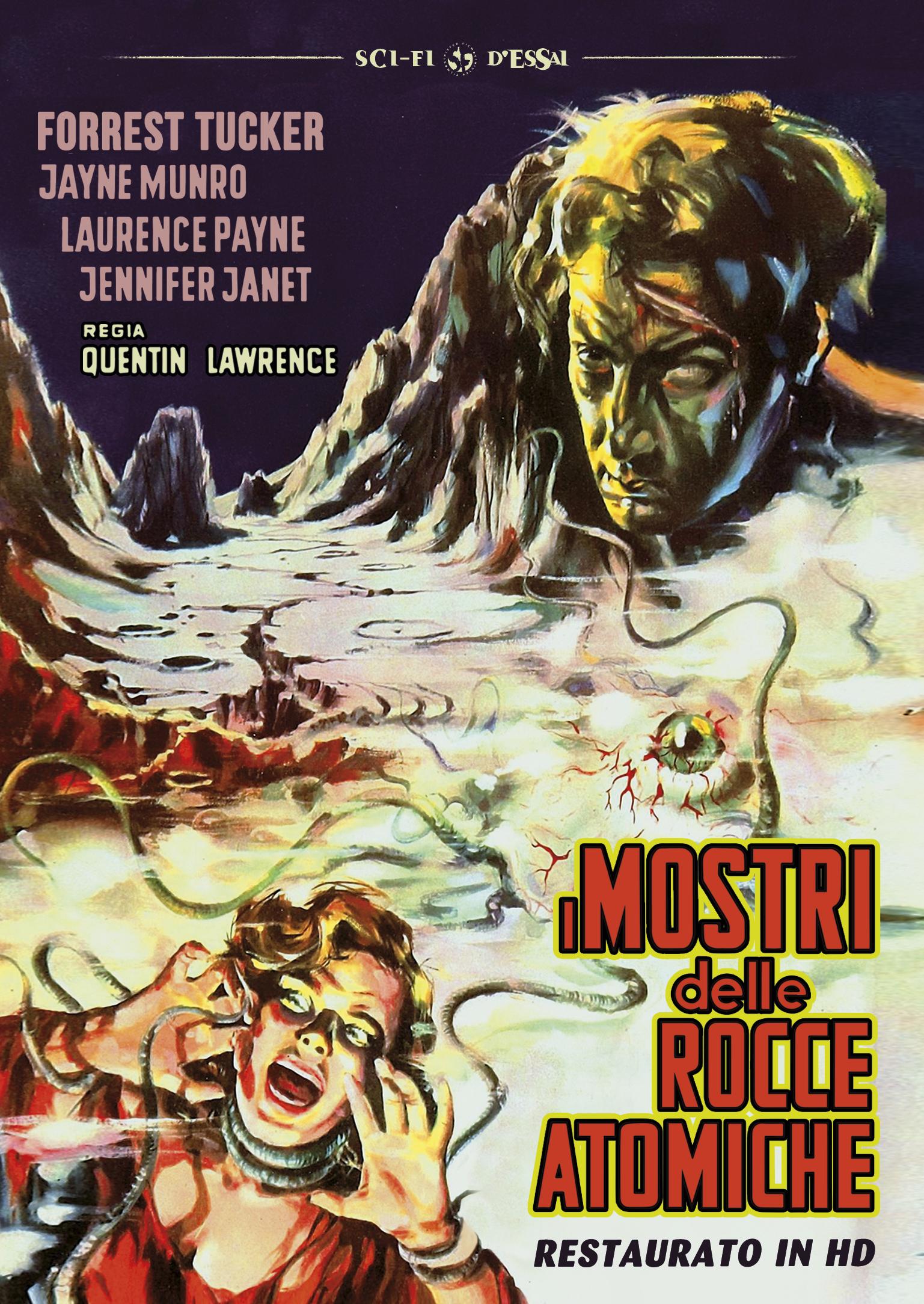 I MOSTRI DELLE ROCCE ATOMICHE (RESTAURATO IN HD) (DVD)