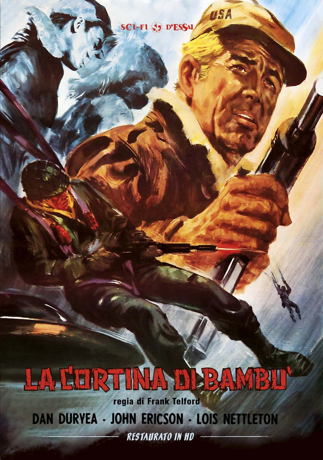 LA CORTINA DI BAMBU' (RESTAURATO IN HD) (DVD)