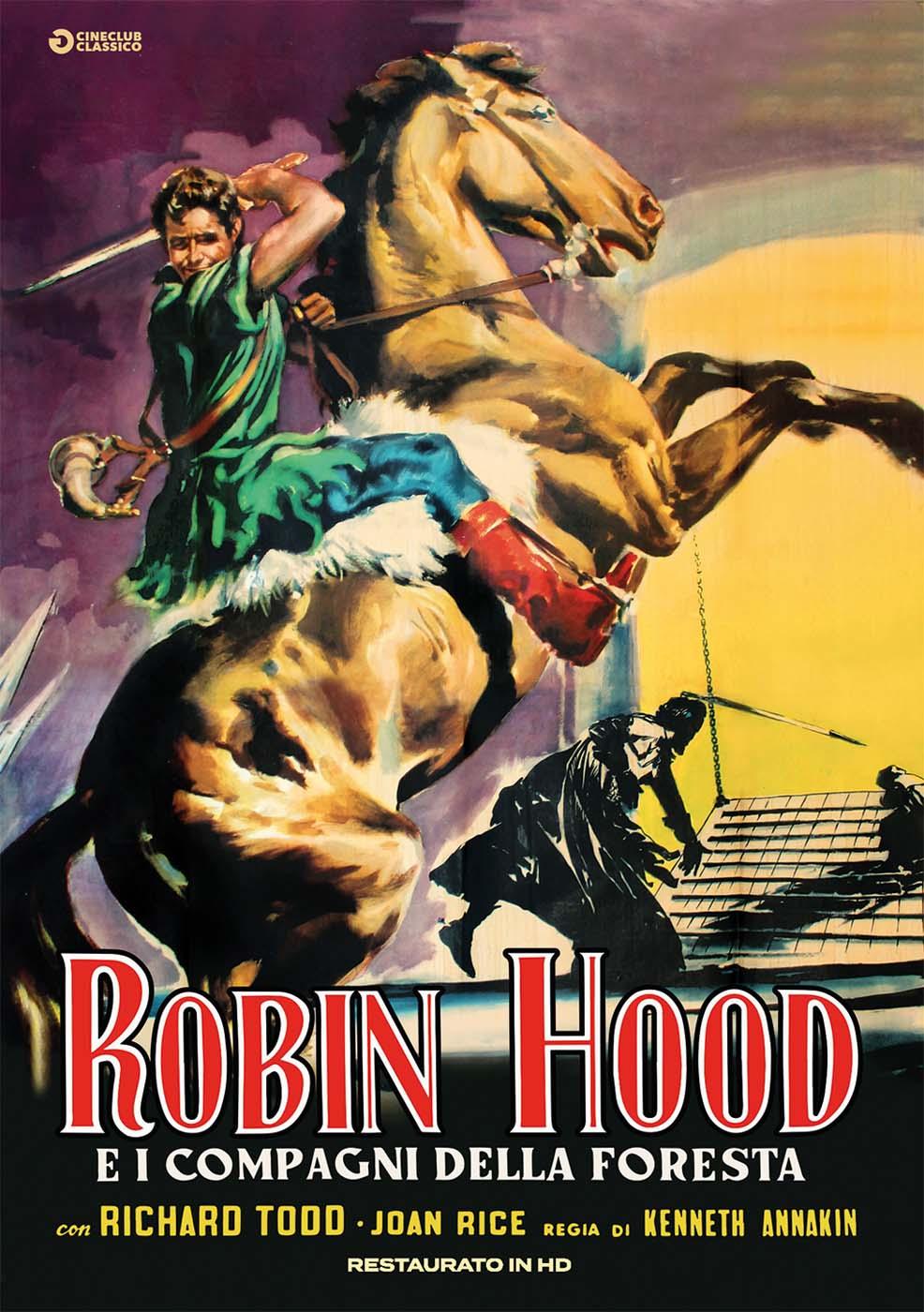 ROBIN HOOD E I COMPAGNI DELLA FORESTA (RESTAURATO IN HD) (DVD)