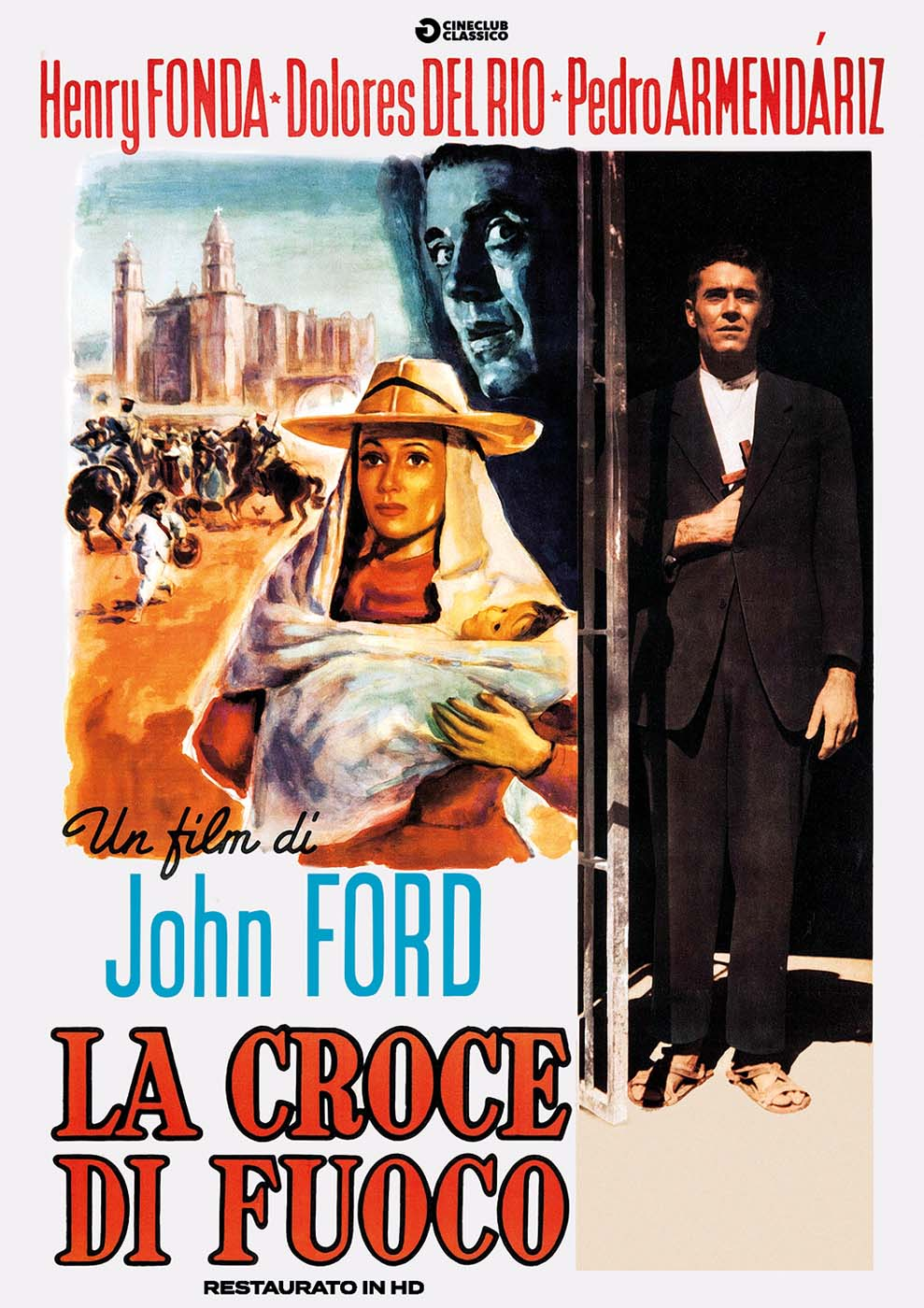 LA CROCE DI FUOCO (RESTAURATO IN HD) (DVD)