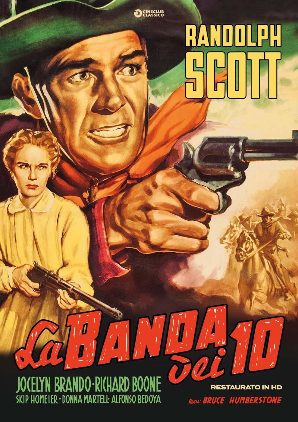 LA BANDA DEI DIECI (RESTAURATO IN HD) (DVD)