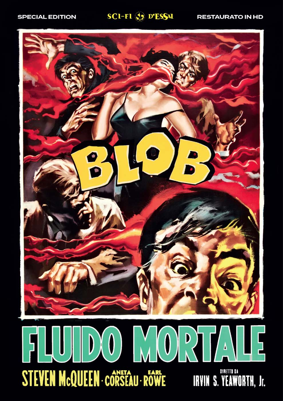 BLOB - FLUIDO MORTALE - SPECIAL EDITION (RESTAURATO IN HD) (DVD)