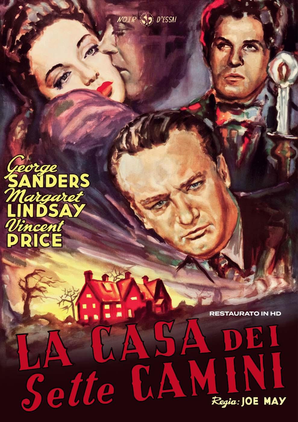 LA CASA DEI SETTE CAMINI (RESTAURATO IN HD) (DVD)