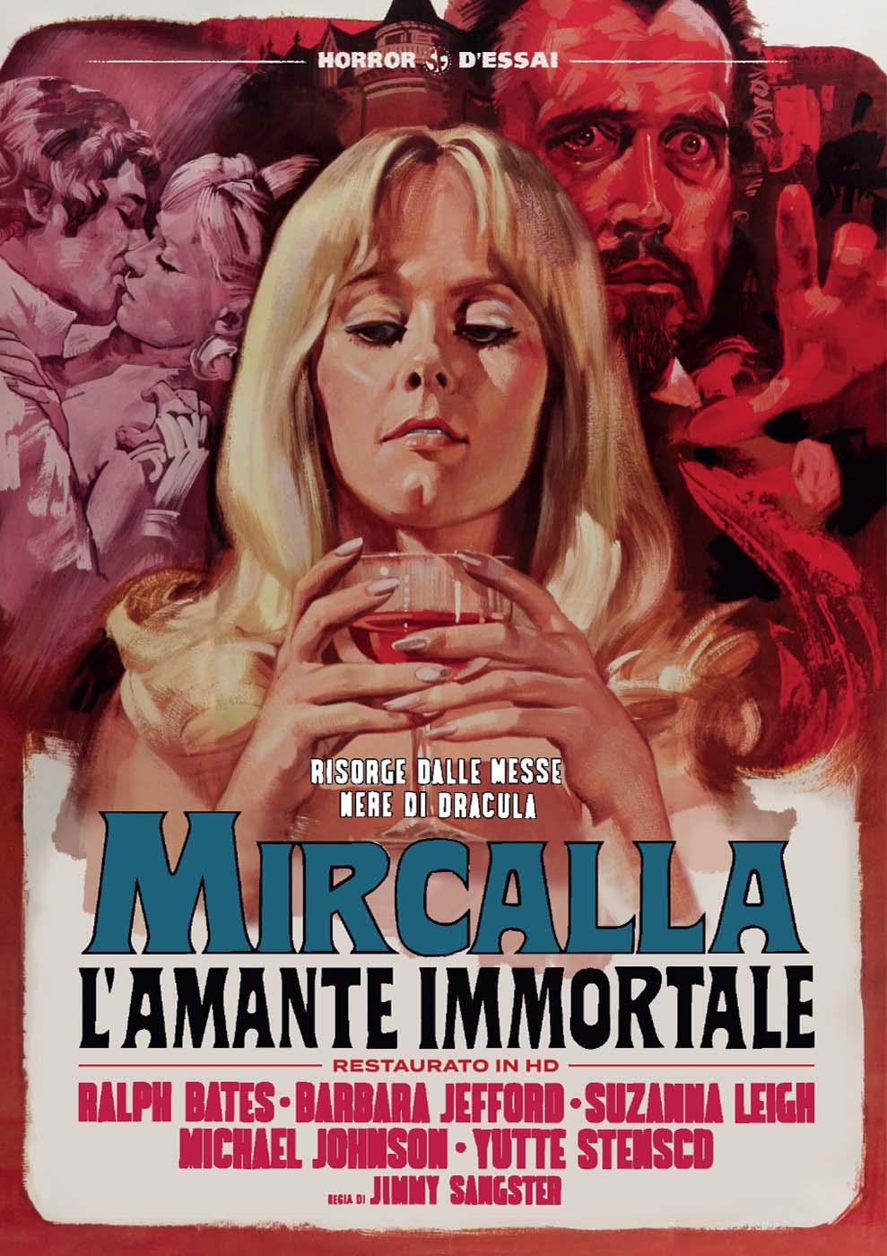 MIRCALLA L'AMANTE IMMORTALE (RESTAURATO IN HD) (DVD)
