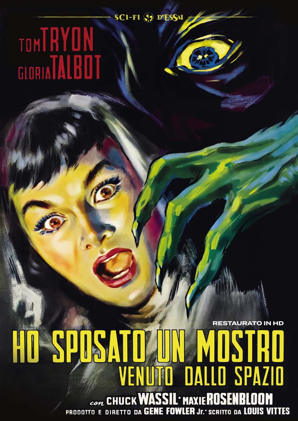 HO SPOSATO UN MOSTRO VENUTO DALLO SPAZIO (RESTAURATO IN HD) (DVD