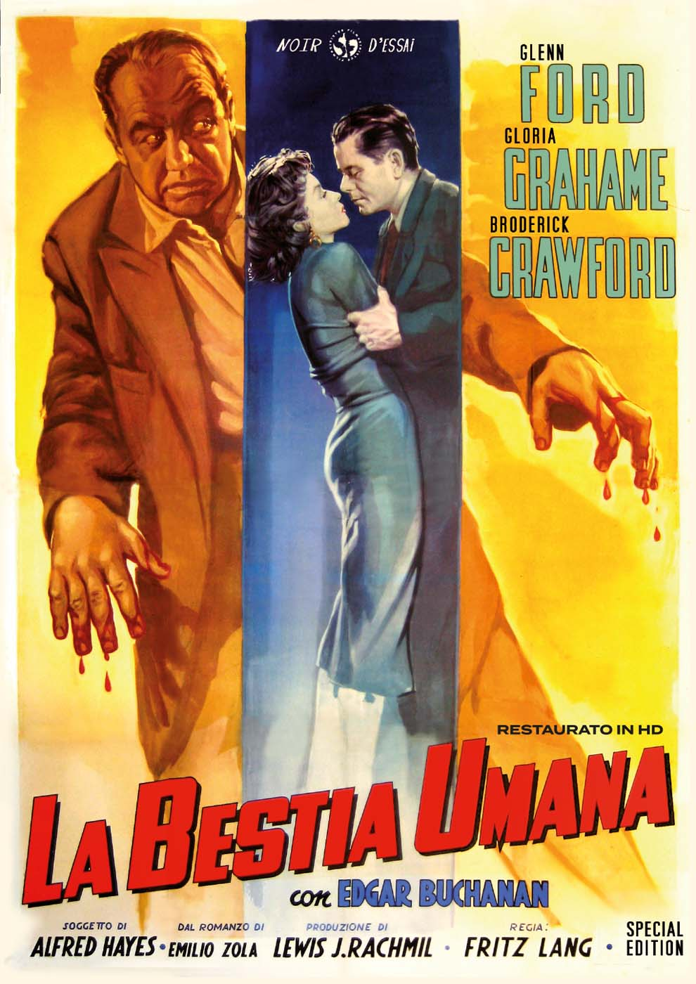 LA BESTIA UMANA - SPECIAL EDITION (RESTAURATO IN HD) (DVD)
