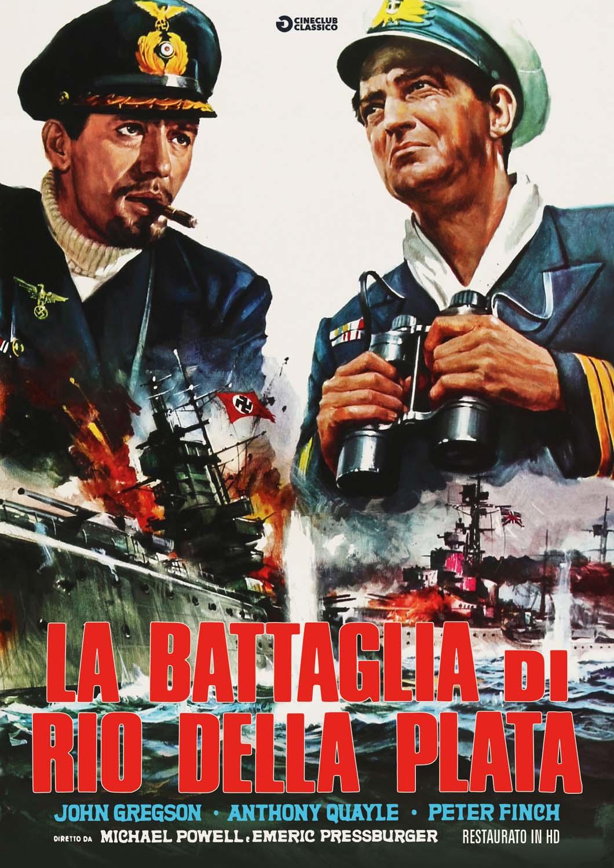 LA BATTAGLIA DI RIO DELLA PLATA (RESTAURATO IN HD) (DVD)