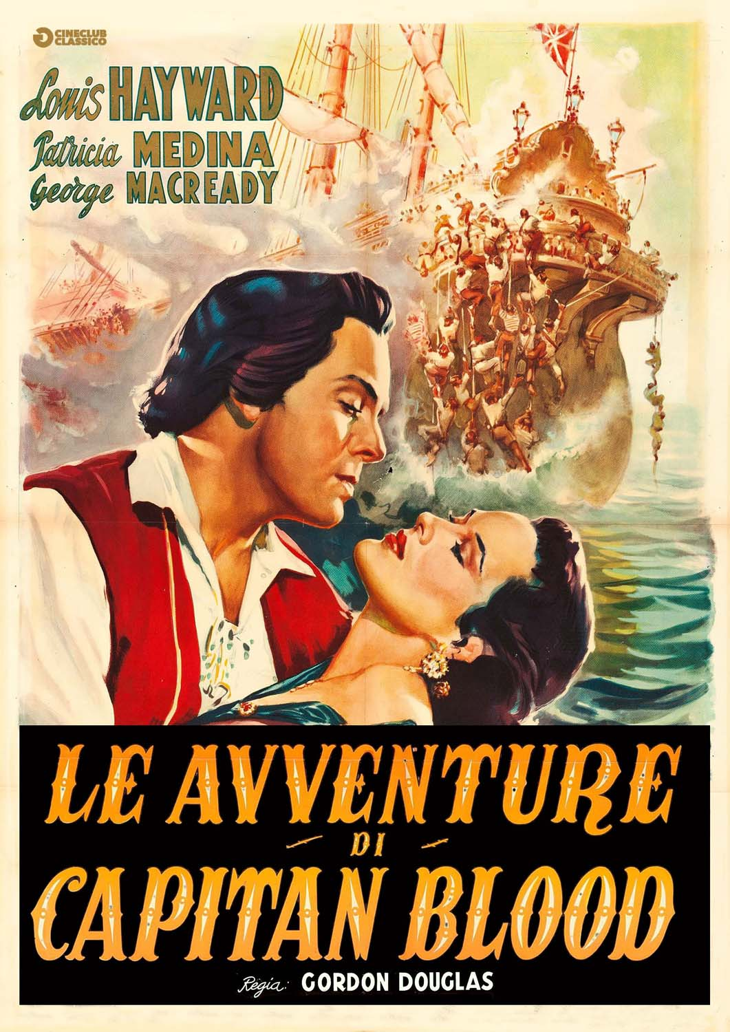 LE AVVENTURE DI CAPITAN BLOOD (DVD)